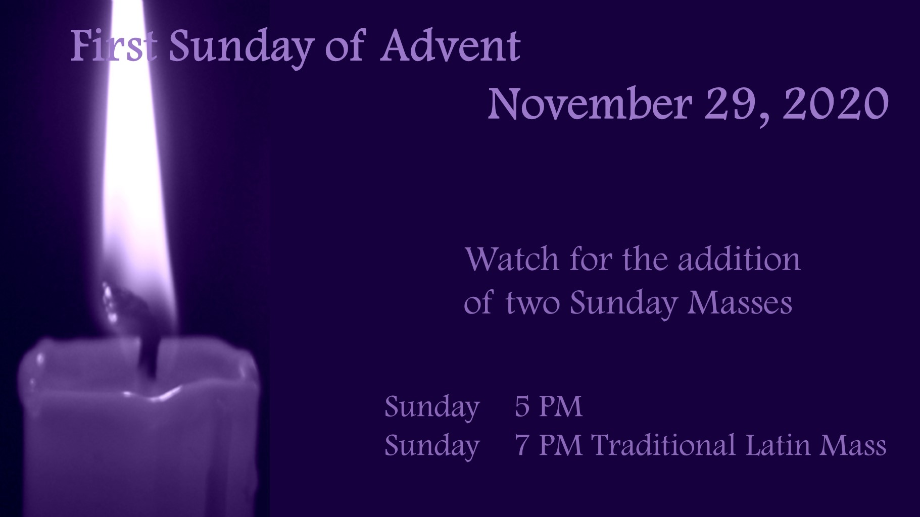 101120 Advent Masses
