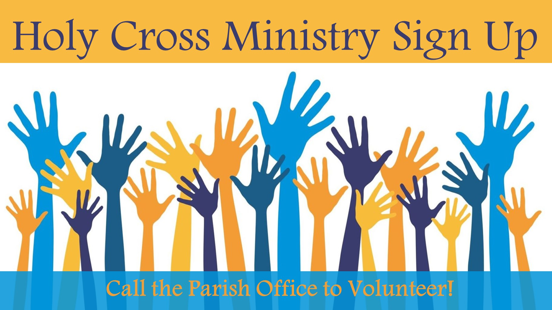 2020 Ministry Sign Up